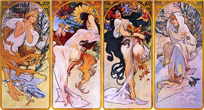 Mucha-les-quatre-saisons